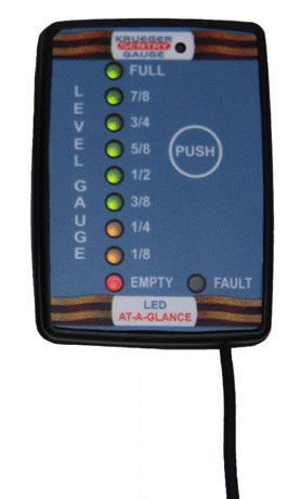 connected consumer, smart oil gauge,led at a glance