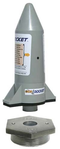 rocket sender and adapter