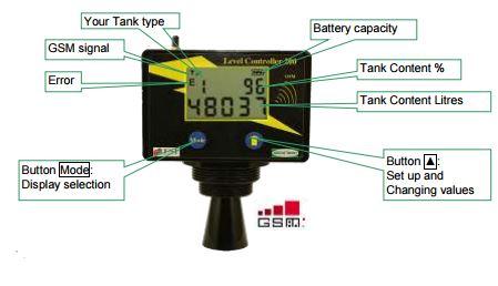 Ultrasonic Tank Level Gauge